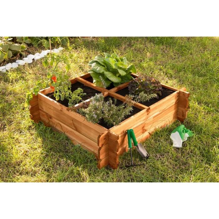 Mini huerto urbano para casa mesas de cultivo for Cultivo pimiento huerto urbano