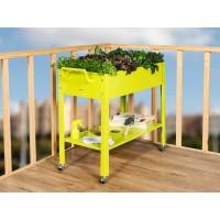 Mesa de Cultivo Portátil en color Verde
