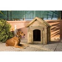 Caseta de Madera para Perros