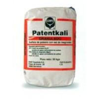 Abono Patentkali en saco de 25 kilos