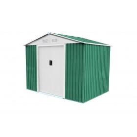 Caseta Metálica color Verde de 4.72 m2