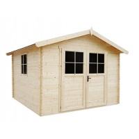Caseta de madera de 9 m2