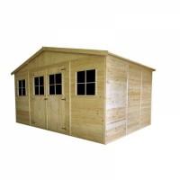 Caseta de Madera para Jardín de 12 m2