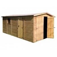 Gran Caseta de Madera para Jardín de 15 m2