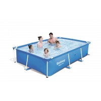 Piscina Steel Pro Splash 300x201x66 cms