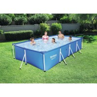Piscina Steel Pro Splash 400x211x81 cms