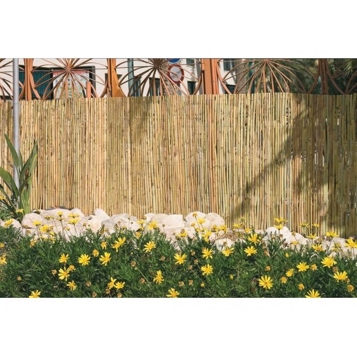 Ca izo de media ca a sistemas de ocultaci n - Canizo para jardin ...